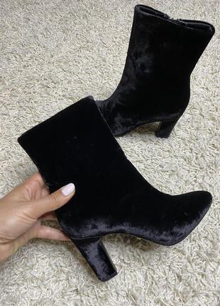 Велюровые ботильоны ботинки сапожки ralph lauren