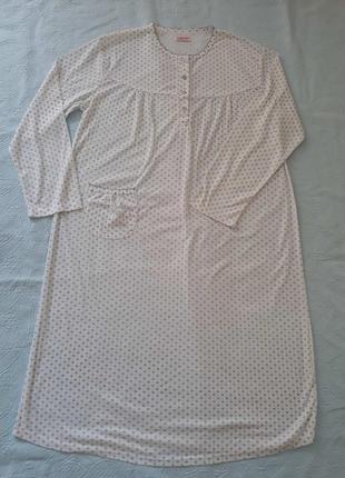 Ночная рубашка с цветами, большой размер, ночнушка в рубчик, нічна сорочка 3xl-4xl
