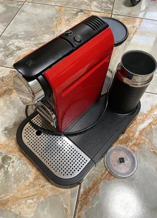 Кофемашина nespresso krups с aeroccino