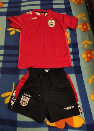 Футбольный костюм англия