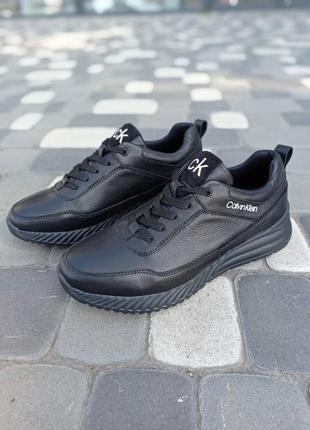 Классные мужские кроссовки кельвин кляйн