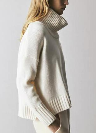 Молочный свитер md