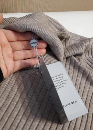 🔥🔥мега стильные гольфы свитерки в рубчик британского бренда laetitia mem расцветки
