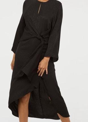 Сукня міді із вузлом від h&m h&m