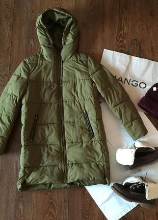 Стеганная куртка анорак mango