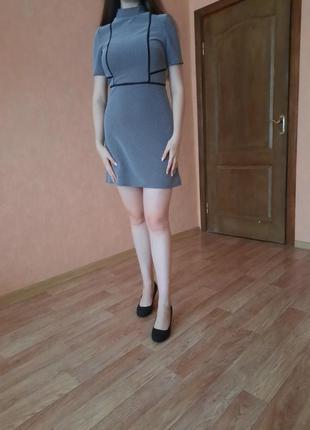 1+1=3 базовое классическое платье