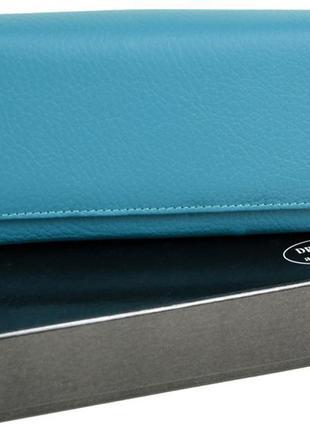 Женский кожаный кошелек dr.bond с визитницей