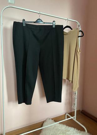 Укорочённые классические брюки 54-56р