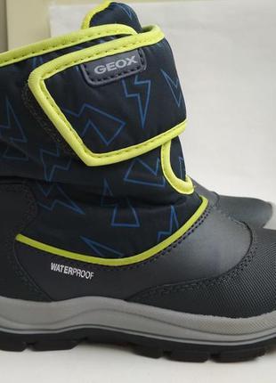 Зимние ботинки geox р.27
