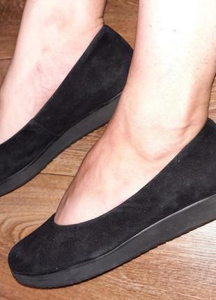 Замшевые туфли / балетки