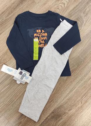 Пижама, домашний костюмчик primark  на мальчика 4/5лет, на рост 110 см.