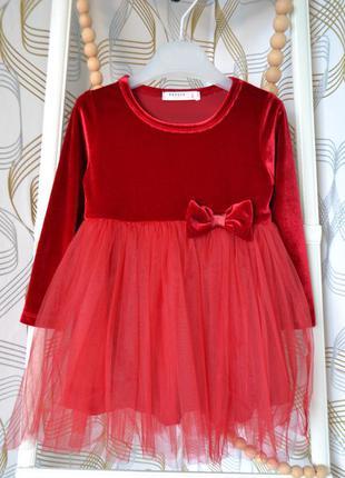 Платье brezze на девочку 18 мес и 2 года