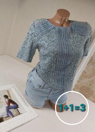 Очень красивая кружевная блуза