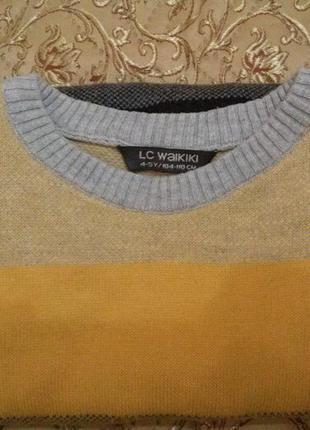 """Демисезонный свитерок """"lc waikiki"""" (р. 104-110)"""