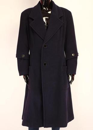 Эксклюзивное архивное пальто шерсть франция