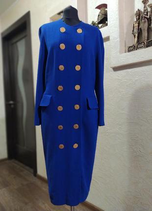 Платье пиджак шерсть jenina