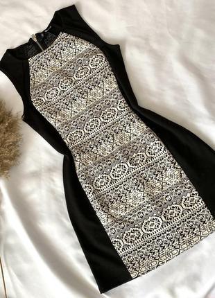 Короткое платье h&m размер s m