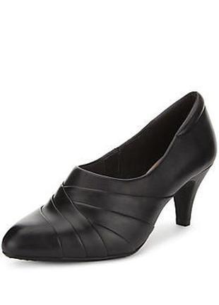 1+1=3 кожаные туфли размер 4.5