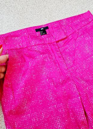 Яркие укороченные брюки с карманами h&m