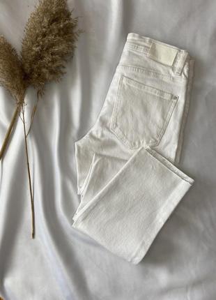 Распродажа джинсов! базовые белые джинсы размер 36 s