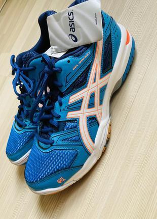 Asics gel-rocket теннисные волейбольные кроссовки 39 новые с бирками