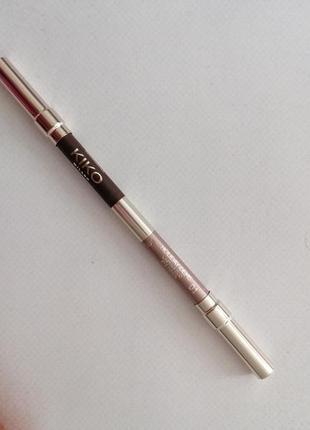Карандаш для глаз кико kiko milano матовый перламутровый  олівець олівчик