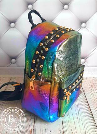 Оригинальный перламутровый рюкзак хамелеон