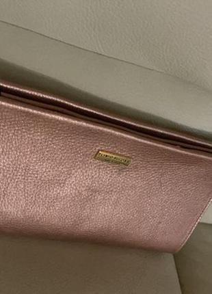 Клач сумка, кожа, бренд plinio visona