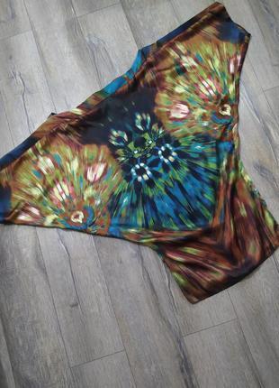 Orna farho роскошное платье из натурального шелка, с биркой, 38/s