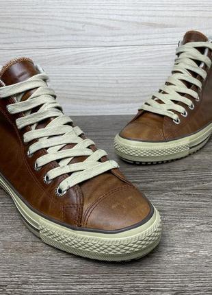 Кеды высокие converse all star зимние мужские кожаные 43 original