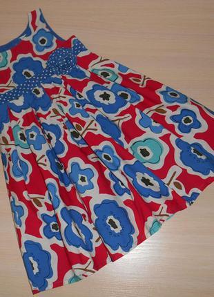 Летнее нарядное платье,сарафан next 12-18 мес, 80-86 см, оригинал