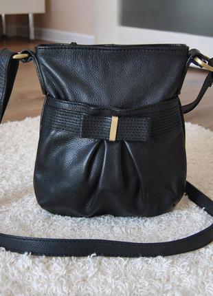 Кожаная сумка кроссбоди oasis / шкіряна сумка