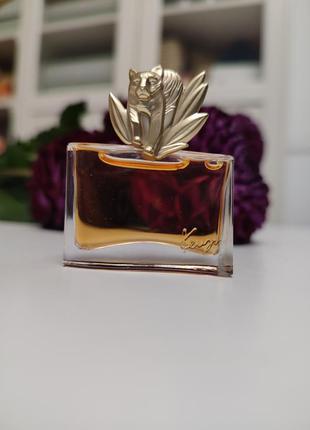 Jungle le tigre kenzo, винтажная миниатюра, парфюмированная вода, 5 мл, редкость!