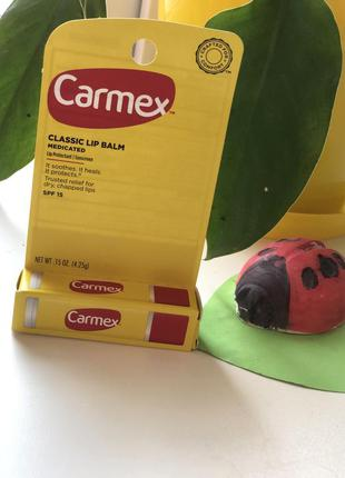 Carmex, классический бальзам для губ с стике
