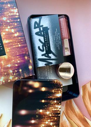 Подарочный набор косметики fenty beauty блеск для губ тушь пудра тональный крем