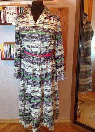 Натуральное немецкое платье, р. 54-56