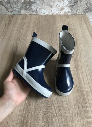 Playshoes 22-23 р гумаки резиновые сапоги ботинки
