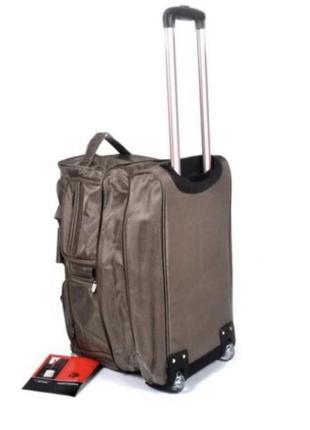 Сумка дорожная на колёсах, валіза на колесах, чемодан на колёсах, сумка дорожня на колесах