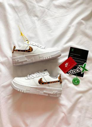 """Nike air force pixel """"white leo"""""""