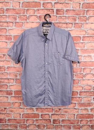 Классическая рубашка на короткий рукав ted baker