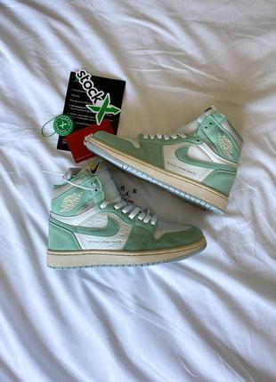 """Nike air jordan 1 retro high og """"turbo green"""