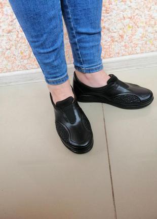 Ортопедические мокасины-туфли