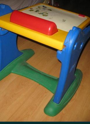 Детская доска-стол для рисования