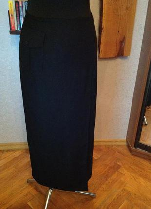 Натуральная, очень приличная немецкая юбка - карандаш, р. 46-48
