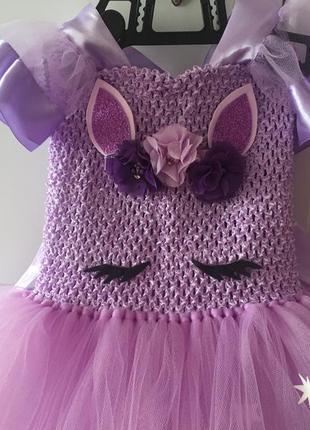 Платье пони-единорожка искорка
