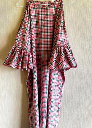 Шикарное фирменное платье h&m 52-54р