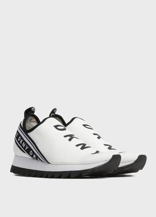 Кросівки жіночі білі dkny