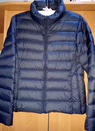 Легкая куртка на пуху semir в сумочке
