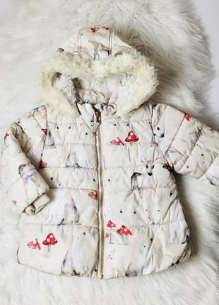 Куртка для дівчинки, тепла курточка, демісезонна куртка осінь/зима