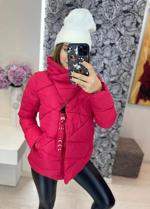 🍉зимняя куртка на теплом холофайбере 💣
